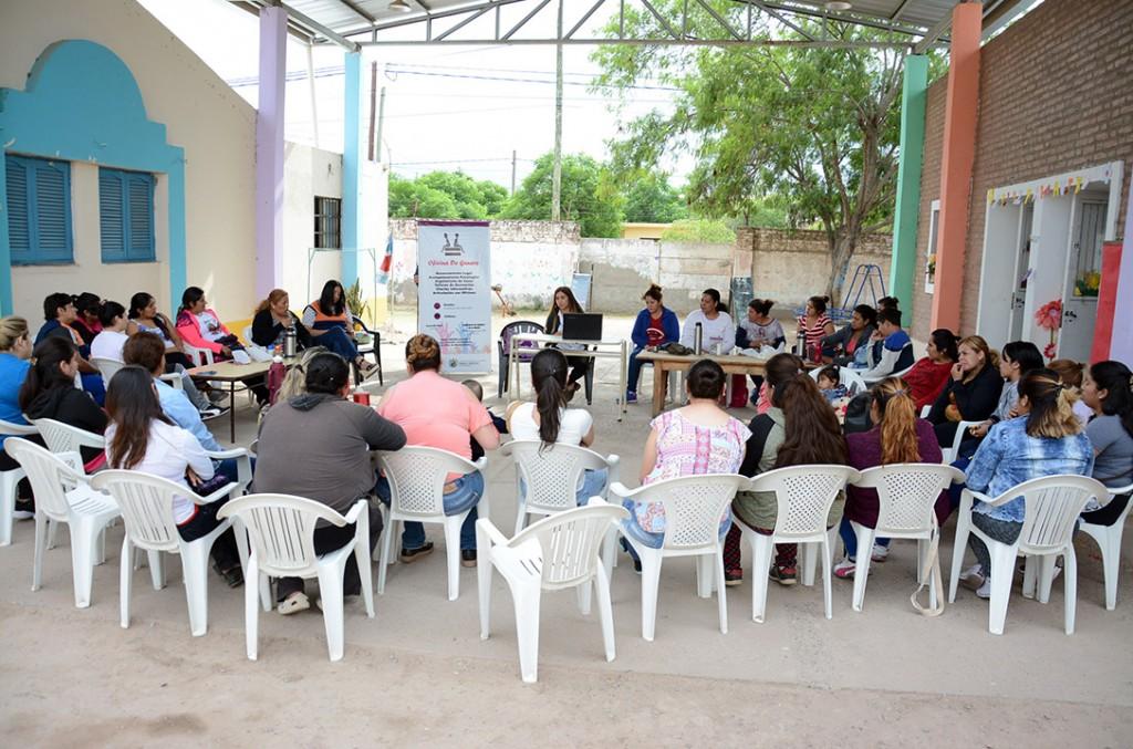 El municipio participa de una jornada nacional sobre violencia, educación e igualdad