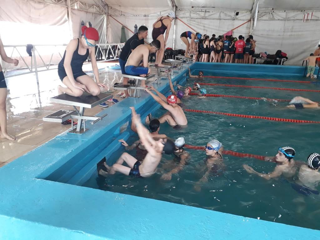El municipio ofrece clases de natación para niños y adultos