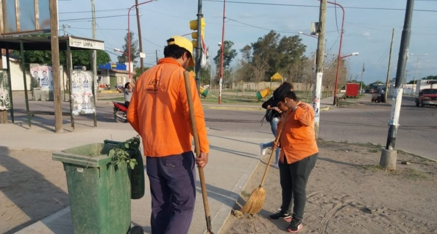 La comuna sigue trabajando por una ciudad más limpia