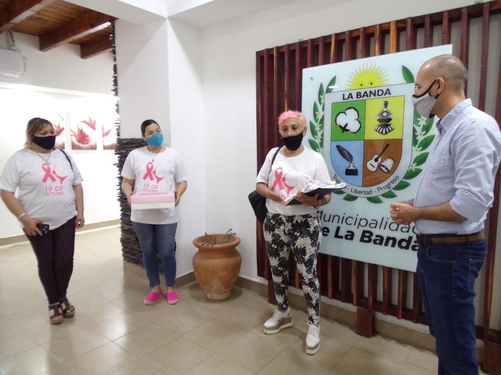 En el Día Mundial de la Lucha contra el Cáncer de Mama el municipio bandeño ratificó su apoyo a la prevención*