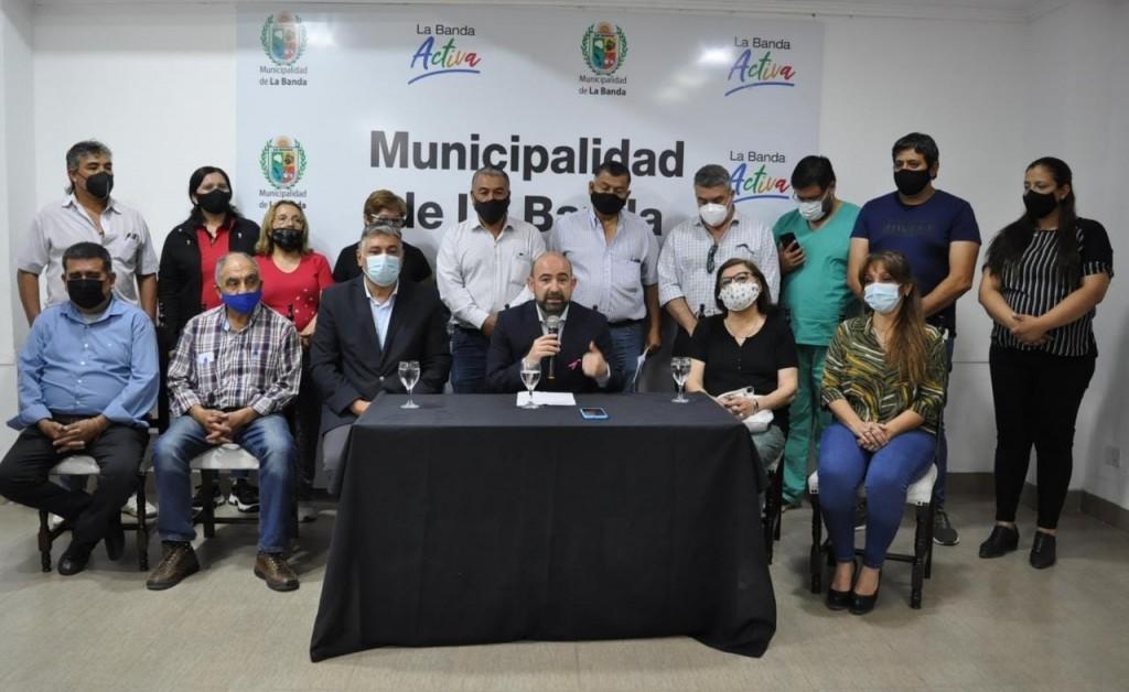 El intendente Mirolo anunció mejoras, recategorizaciones y la adhesión al aumento del sueldo básico