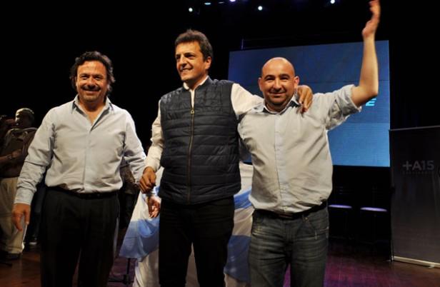 En un colmado cine Renzi, Mirolo cerró su campaña junto a Massa