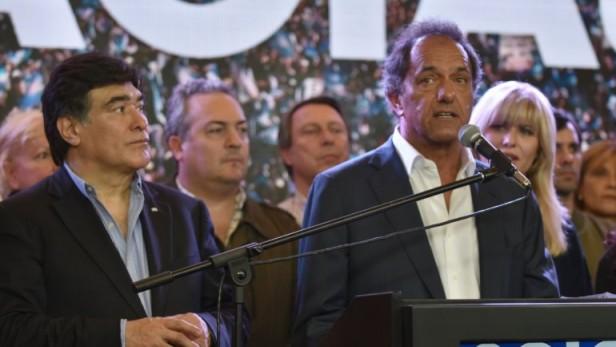 Daniel Scioli reconoció la derrota y felicitó a Mauricio Macri