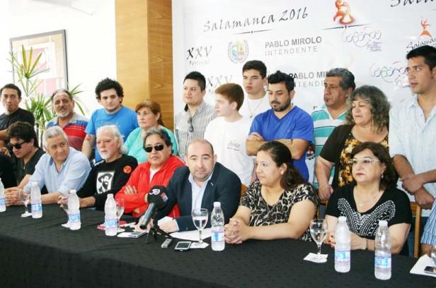 Pablo Mirolo anunció una grilla de primer nivel para el XXV Festival de La Salamanca