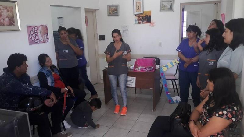 El área de Salud Municipal realiza charlas y talleres en la Semana del Prematuro