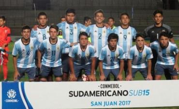 Argentina goleó a Perú y definirá el Sudamericano Sub-15 ante Brasil