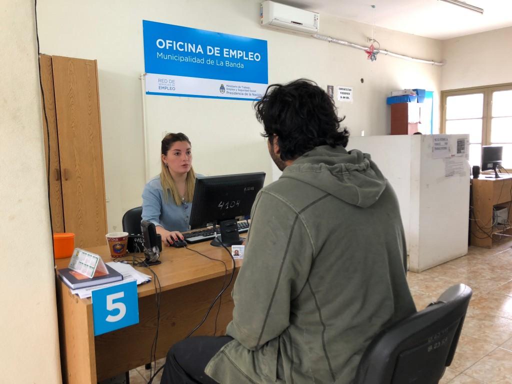 La Oficina de Empleo realiza entrenamientos laborales para el sector privado