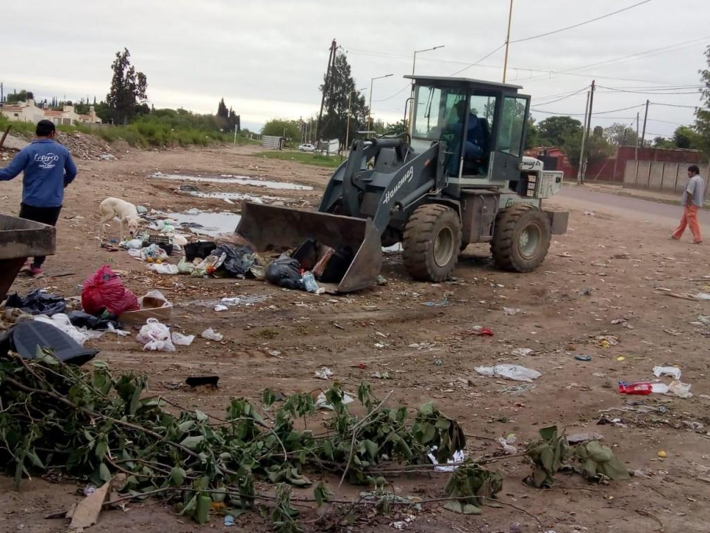 El municipio bandeño trabaja para erradicar los mini basurales en la ciudad