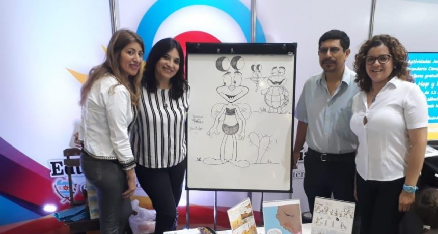 El municipio acompañó a artistas bandeños en la 9° Feria Provincial del Libro