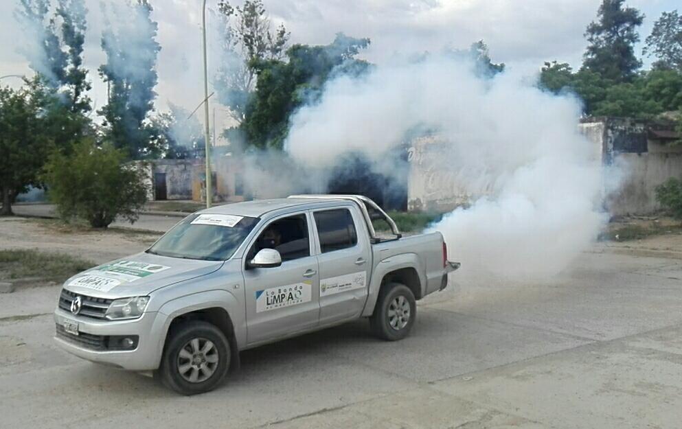 El municipio intensifica las fumigaciones en los barrios para evitar casos de dengue