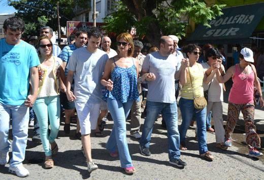 Se realizo la 2º marcha por pedido de Justicia para el ex Intendente