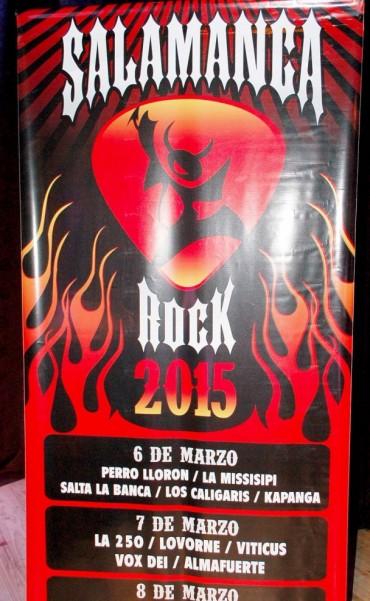 Con la presencia de grandes músicos, se lanzó oficialmente el Salamanca Rock 2015