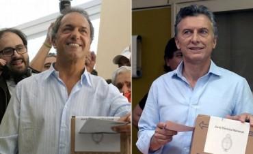 Dieron a conocer el escrutinio definitivo: cuál fue la diferencia entre Mauricio Macri y Daniel Scioli