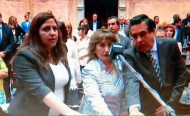 Mariana Morales juró como diputada nacional