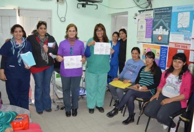 El Camm del barrio Tabla Redonda cuenta con un variado  equipo médico