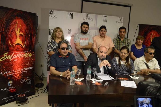 El intendente Mirolo anunció una cartelera de jerarquía para el XXVI Festival de La Salamanca