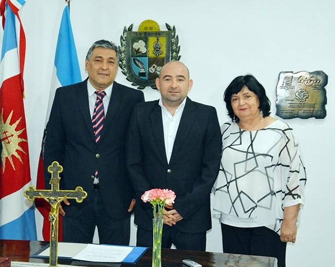 El intendente Mirolo puso en funciones a Roger Nediani como nuevo secretario de Gobierno