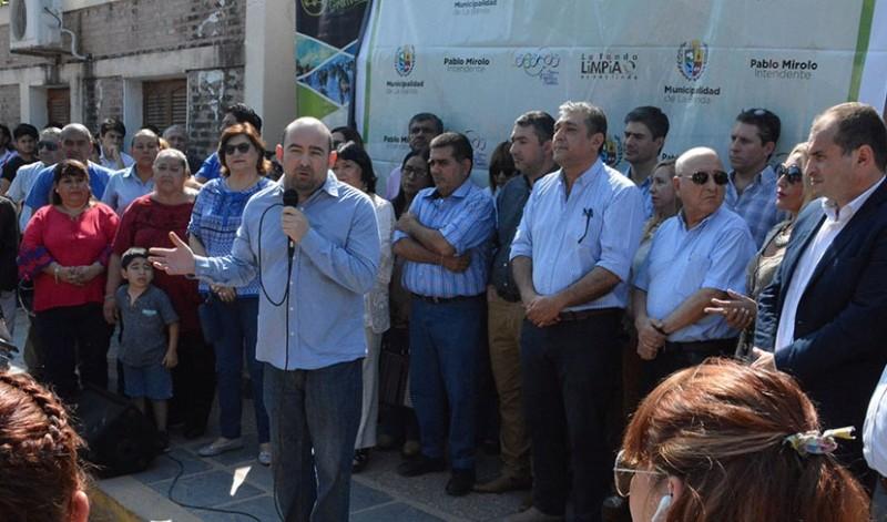 El intendente Pablo Mirolo anunció el pago del bono extra para municipales de planes y locaciones