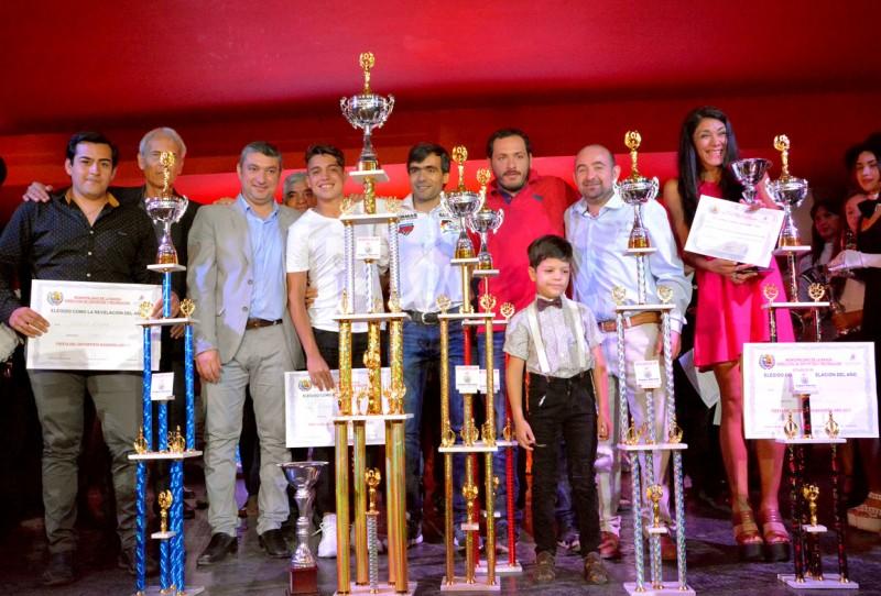 El deporte bandeño tuvo su gran noche de premiación y distinciones especiales