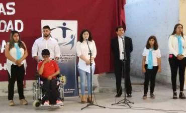 """La Banda dijo """"Un día para todos, para que todos seamos iguales"""" en el Día Internacional de las Personas con Discapacidad"""