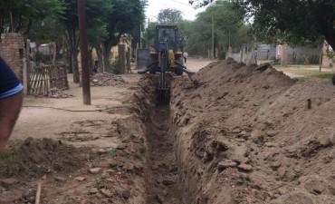 Se realizó la extensión de red de agua potable en el Barrio IV Centenario 2