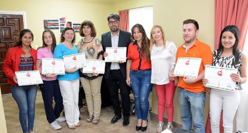 """Artistas que participaron de """"Arte Banda"""" fueron distinguidos por el municipio"""