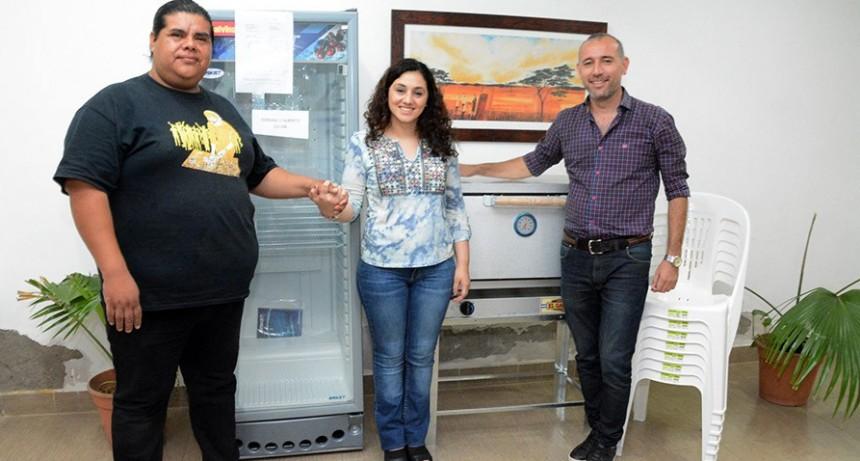 Emprendiendo Sueños benefició a un vecino del barrio Matadero Viejo