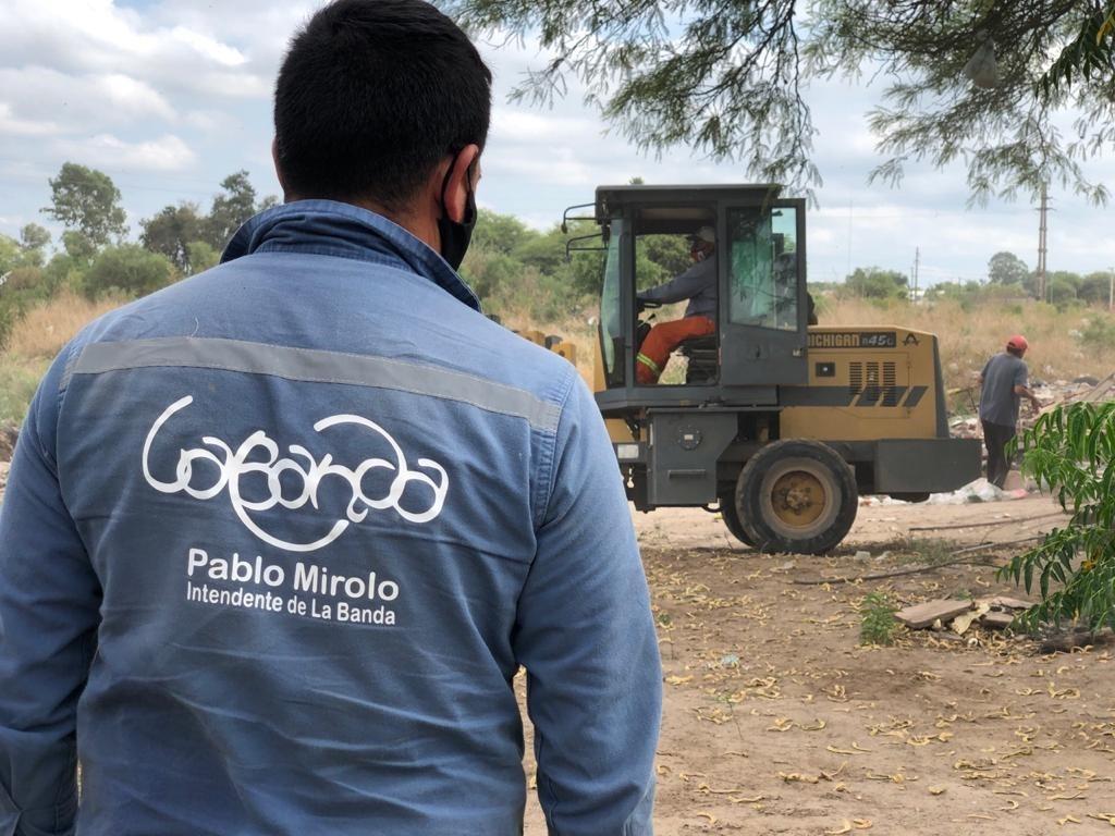 Higiene realizó limpieza en los barrios Central Argentino Nuevo y Central Argentino Ampliación*