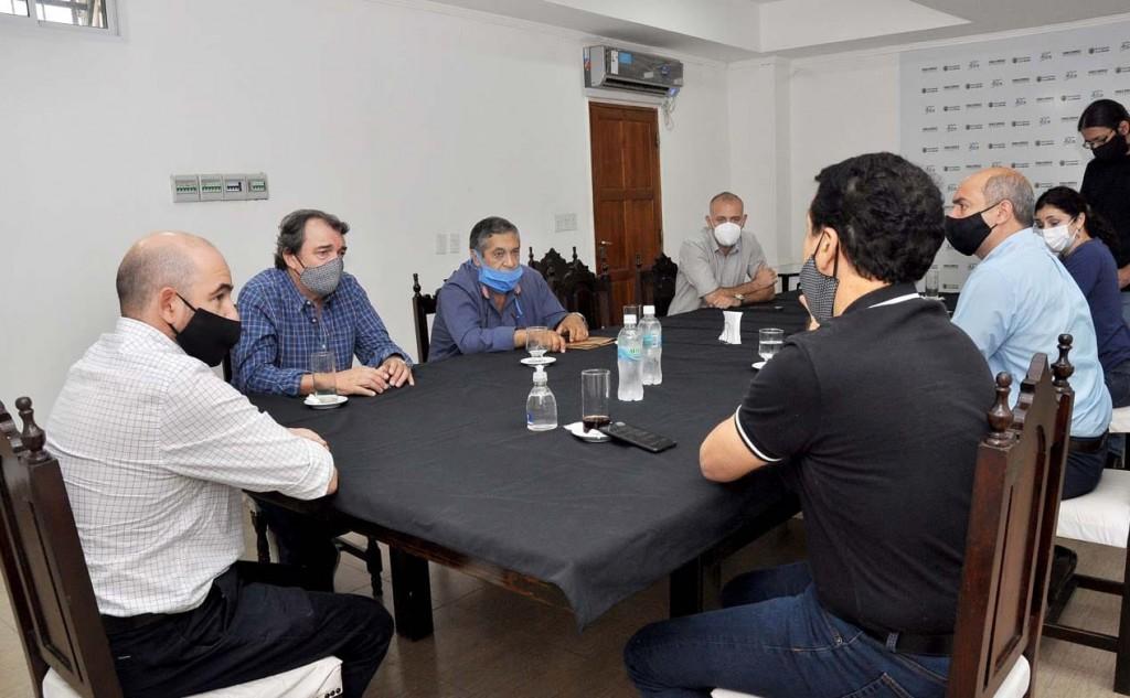 El intendente Mirolo y el ministro Niccolai articulan la puesta en marcha del Programa Potenciar Trabajo